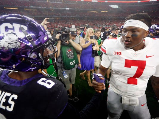 No 17 Tcu Focused On Big 12 Play After Loss To Ohio State