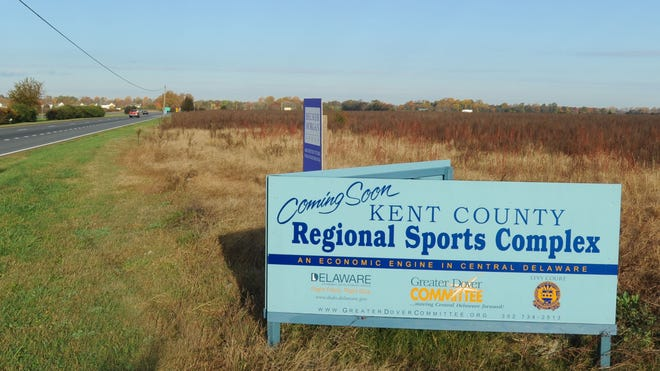 The Kent County Regional Sports Complex has been planned for land east of Del. 1 near the intersection of Milford Neck Road south of Frederica.