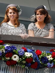 Princesses Beatrice, Eugenie