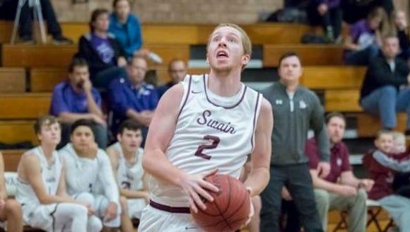 Swain County's Evan Bradley (2).