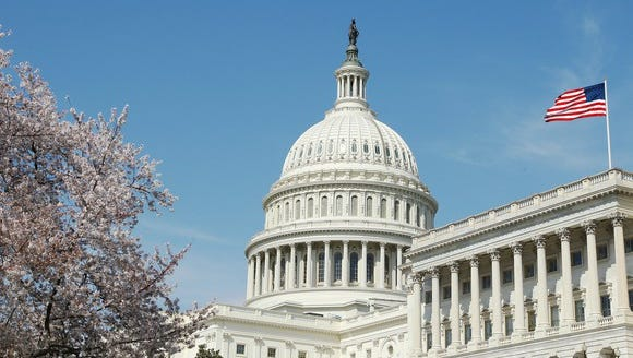 The U.S. Capitol is pictured in Washington.