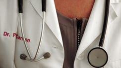 Physician with stethoscope.
