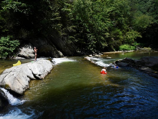 Muddy Creek: Hike in to swim and adventure