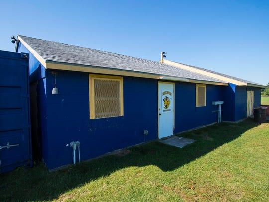 The Block House at Milton High School on Monday, September