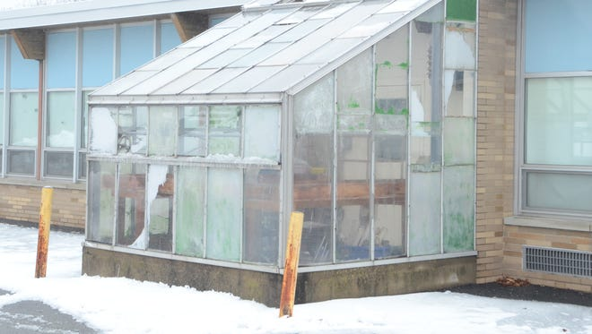 West Milford's Macopin school greenhouse, pictured on Jan. 24, 017, will get a renovation.
