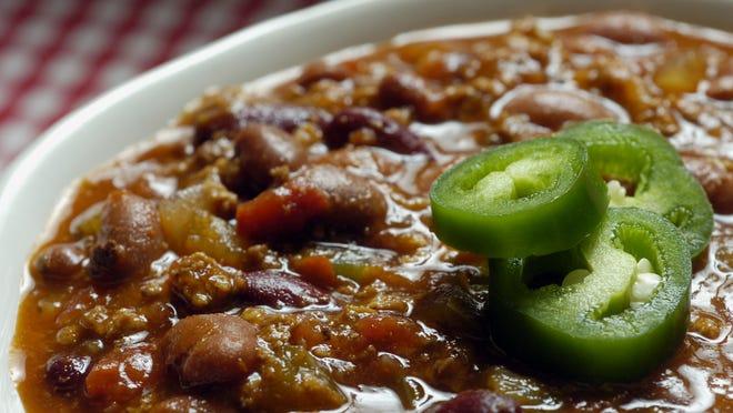 Enjoy some delicious chili.