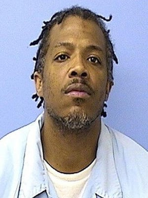 FILE - This undated file photo provided by the Violent Crimes Task Force, Chicago Division, shows Paris Poe. Poe is one of six defendants on trial for racketeering and other charges are purported leaders of the widely feared Hobos, a South Side gang that federal prosecutors said murdered, maimed and tortured their way into control of some of Chicago's most lucrative drug markets.