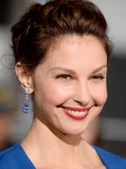 Ashley Judd spoke on gender violence.