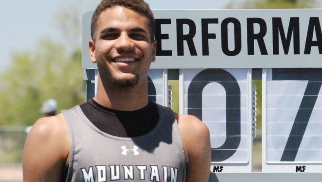 Marana Mountain View senior Justice Summerset cleared 7 feet, 2 1/2 inches to break the state high jump record.
