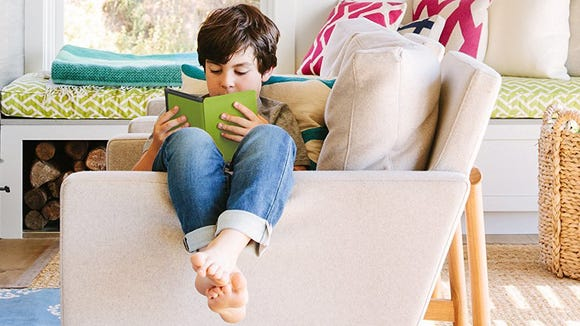 Amazon Kindles are great gifts for kids.