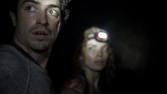 """Ben Feldman stars in a scene from """"As Above, So Below."""""""