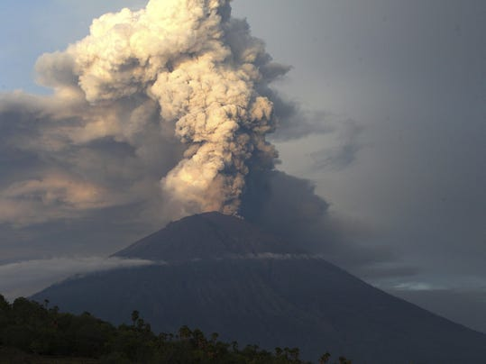 Indonesia Bali Volcano Photo Gallery