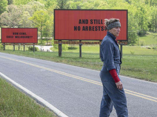 Three Billboards SAG Awards Nominations (2)