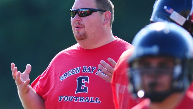 Brian Nast has stepped down as the Green Bay East football coach after 11 seasons.