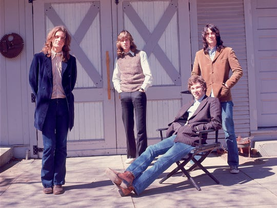 The original members of Big Star: (from left) Alex Chilton, Jody Stephens, Chris Bell and Andy Hummel, from the documentary 'Big Star: Nothing Can Hurt Me.'