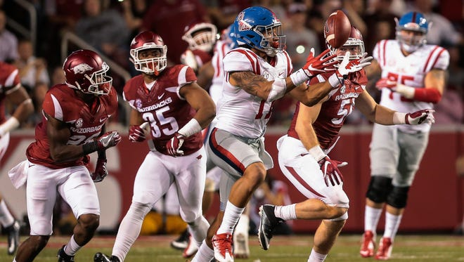 Ole Miss tight end Evan Engram (17) said big plays have to be made when they come his and his fellow teammates' way.