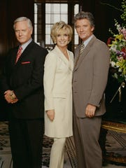 Larry Hagman, Linda Gray and Patrick Duffy returned