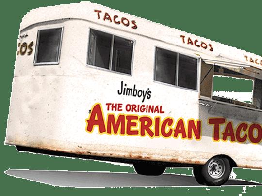 Jimboy's Tacos began in a converted trailer at Lake Tahoe in 1954.