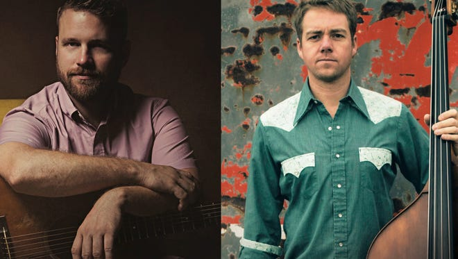 Jon Stickley and Travis Book play a bluegrass show at Altamont Theatre on Dec. 20.
