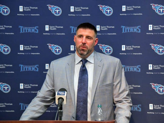 The Titans are rolling the dice on former Patriots linebacker Mike Vrabel, who's been an NFL assistant for just four seasons.