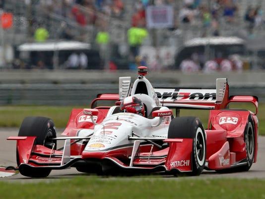 IndyCar: Grand Prix of Louisiana-Practice