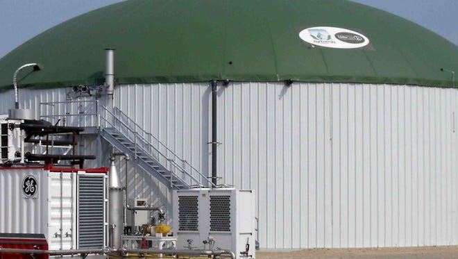 Crave Brothers Farmstead Cheese in Waterloo uses a manure digester to convert animal waste and generate energy.