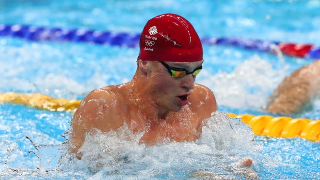Great Britain's Adam Peaty is among the stars competing in Indianapolis this week.