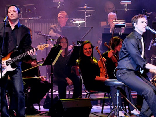 """Michael Cavanaugh, star of the Billy Joel musical """"Movin' Out,"""" will perform with the Harrisburg Symphony Orchestra on Oct. 24 and 25."""