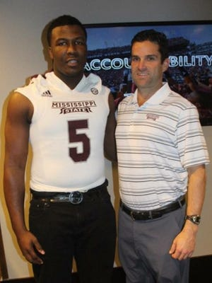 Four-star defensive end Emmit Gooden committed to Mississippi State on Thursday night.