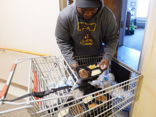 John Clay is one of the Meals on Wheels drivers who