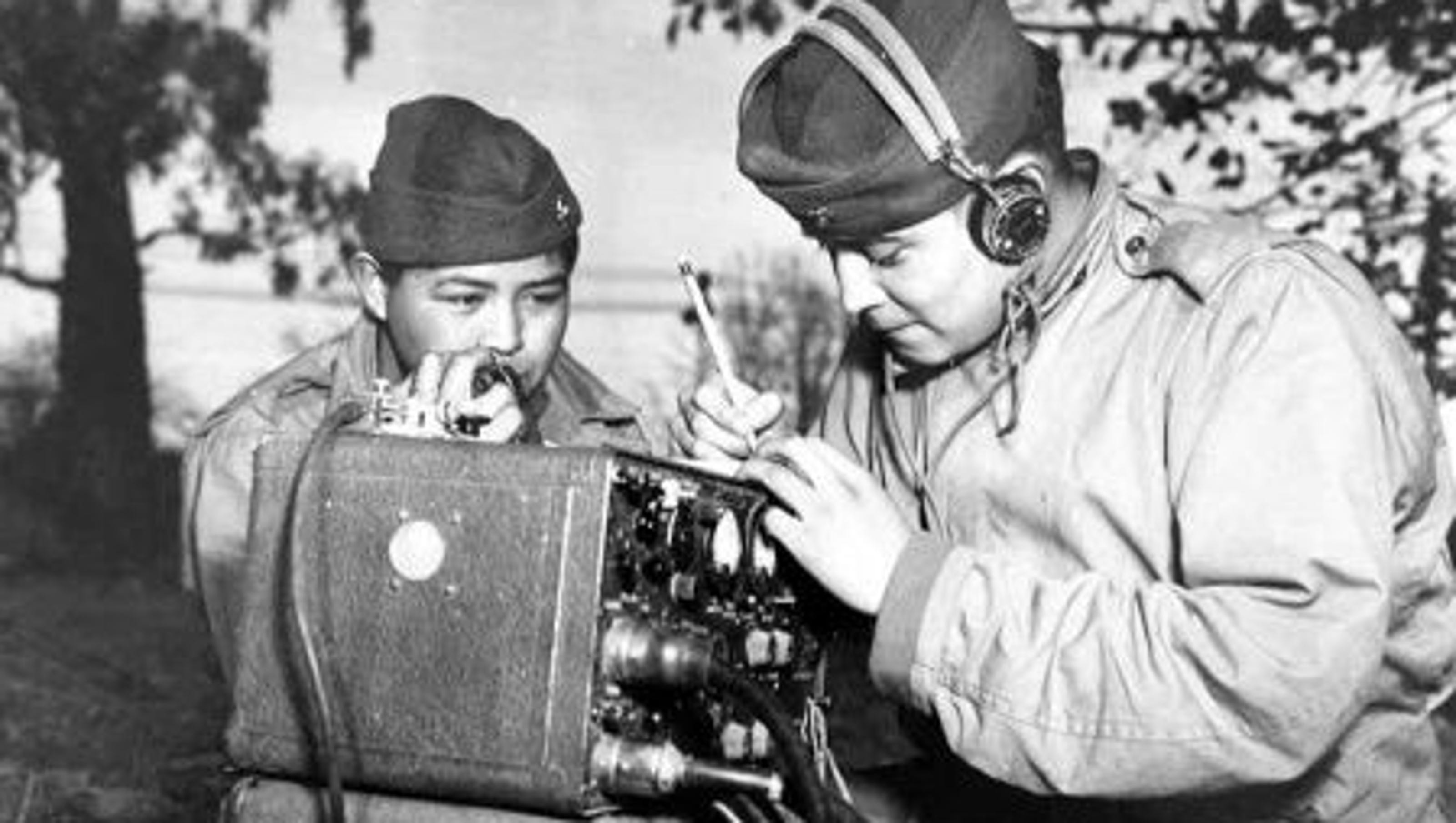 "an introduction to the navajo code talkers In 1942 the marines recruited a group of 29 navajo men during their training they created and memorized a code based on the navajo language in the code, some military terms were represented by whole navajo words for example, the navajo word for ""hummingbird"" stood for ""jet fighter,"" and the word for ""turtle"" meant ""tank."
