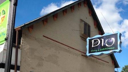 The Dionysus Theatre in downtown Pinckney