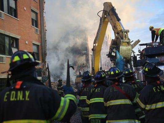 East Harlem explosin