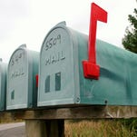 Residents can support local food banks by leaving bags of donated food by their mailboxes Saturday.