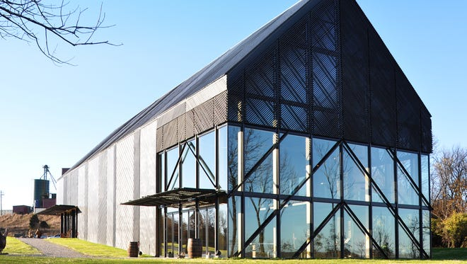 Wild Turkey Bourbon Visitor Center in Lawrenceburg designed by the Louisville firm De Leon & Primmer Architecture Workshop for Gruppo Campari (USA-Campari America) won a national award for The American Institute of Architects.