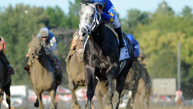 Liam's Map was the dominant winner of Saratoga's Grade I, 1 1/8-mile Woodward. He now turns back in distance  for the $1 million Breeders' Cup Dirt Mile.