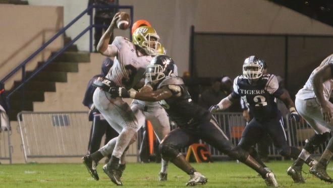 Jackson State nominated junior defensive end Javancy Jones for the 2015 C Spire Conerly Trophy.