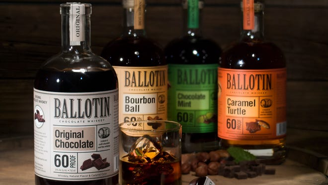 Louisville-based Saloon Spirits has launched its Ballotin Chocolate Whiskey line, featuring four flavors.