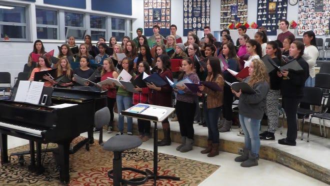 The Hillsborough High School choir will be performing Dec. 4th at Carnegie Hall.