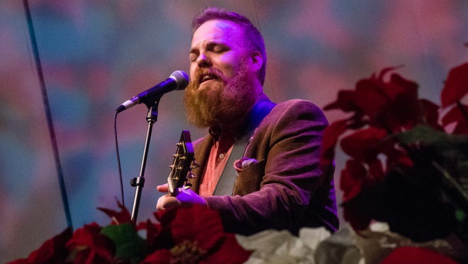 """Marc Broussard performs with the Acadiana Symphony Orchestra during a Dec. 18 concert titled, """"Christmas Story: Rhythms from Our Land."""""""