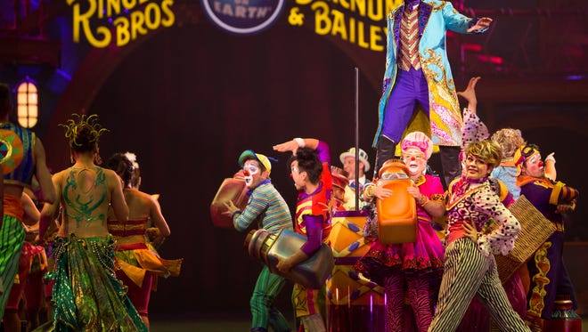 Feld Entertainment The Ringling Bros. and Barnum & Bailey donated $10K to the Children's Hospital of Greenville Health System.