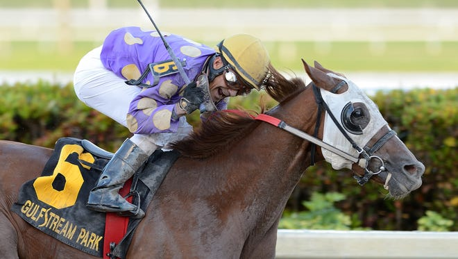 Fellowship, third in the Fountain of Youth, will go on to the Florida Derby, said trainer Stanley Gold.