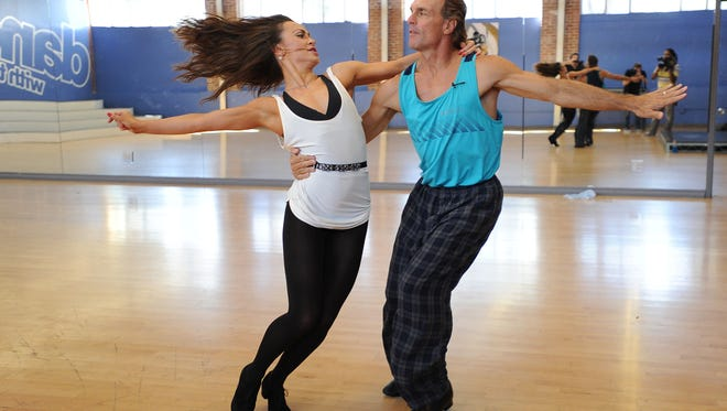 """Former Bills quarterback Doug Flutie is one of the stars of Season 22 on of """"Dancing With The Stars,"""" on ABC. His partner is Karina Smirnoff."""