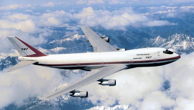 747 flying