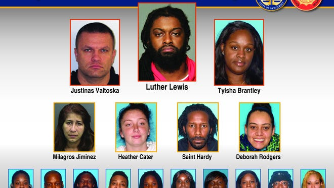 Two Central Jersey residents have been charged as the ringleaders of a complicated Craigslist auto-theft network.