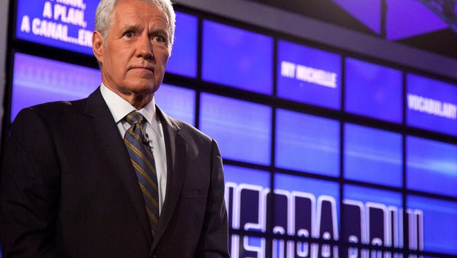 "Alex Trebek hosts ""Jeopardy!"""