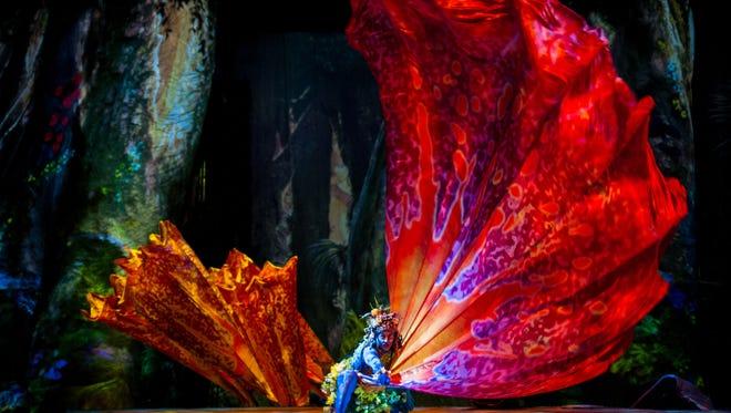 """Toruk"" by Cirque du Soleil is based on the film ""Avatar."""