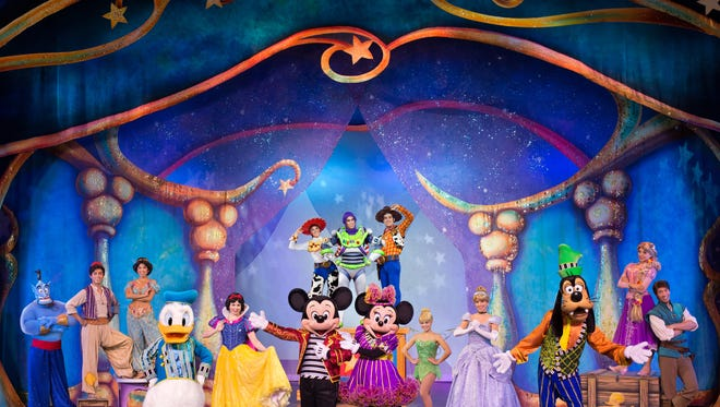 Disney Live! Mickey and Minnie's Doorway to Magic heads to the Abraham Chavez Theatre on Jan. 6 and 7.