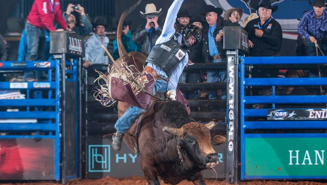 Current CBR World Standings No. 1 ranked bull rider Boudreaux Campbell, 19, will be defending that ranking this weekend at the Oman Arena in Jackson.