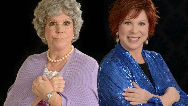 Vicki Lawrence presents a two-woman show when she performs May 4, 2018, at the Southwest Florida Event Center in Bonita Springs, Florida.